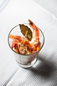 Escabeche with prawns