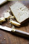 Pecorino Sardo cheese, Italy