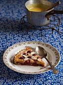 Bakewell Tart (Mandelkuchen mit Kirschen, England)