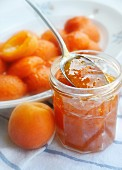Apricot jam with chilli