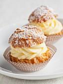Mini cream puffs