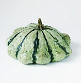 A green striped squash
