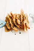Crispbread with pumpkin seeds