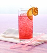Shirley Temple with ginger ale and grenadine