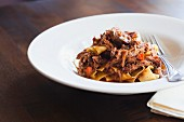 Pappardelle with Wild Boar Sugo