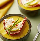 Mango Lobster Soup