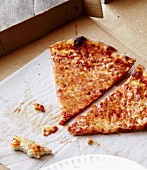 Pizza Slices in Delivery Box