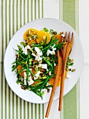 Green Bean Orange Salad