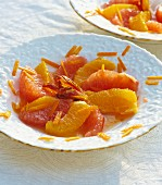 Grapefruit & orange salad with dates