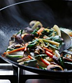 Asian stir-fried vegetables