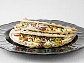 Knäckebrot-Sandwich mit Surströmming