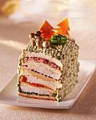 Club sandwich for Christmas