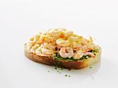 Räkmacka (toast with prawns, Sweden)