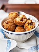 Apple dumplings in a bowl