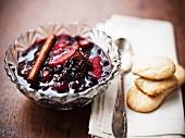 Elderberry compote