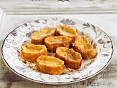 Torrijas de leche (French Toast with cinnamon and honey, Spain)