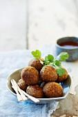 Lamb meatballs with coriander (Thailand)