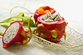 Dragon fruit and melon salad (Thailand)