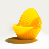 Yellow Silicone Baking Cups