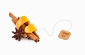 Tea Ingredients (anise, cinnamon, orange peel)