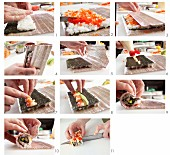 Making California maki