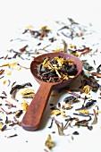 Grüner Tee, aromatisiert (ungekocht)