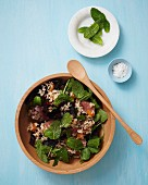 North African lamb salad with rice, dates and mint