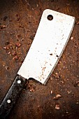 Used Meat Cleaver