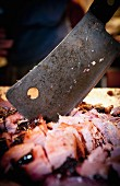 Meat Cleaver and Meat