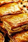Puff pastries from France