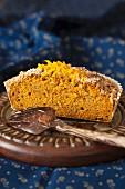 Streuselkuchen mit Orangenschale