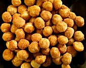 honey roasted macadamia nuts from above