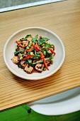 Vegetable Tofu Salad