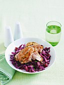 Rosemary chicken and cabbage