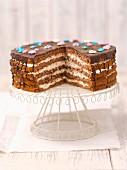Chocolate cream cake