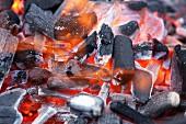 Glowing coals (full frame)