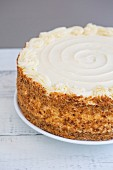 Hummingbird cake (banana and pineapple cake with cream cheese frosting)