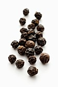 Black peppercorns (close-up)