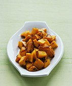 Butternut squash with sage