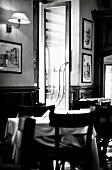 The interior of an Italian restaurant