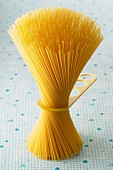 Spaghetti mit Messgerät