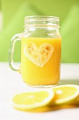 Orange and banana juice