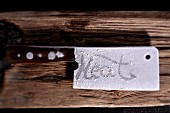 An icy meat cleaver
