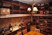 Vintage tasting room at Kanonkop, Stellenbosch, Western Cape, South Africa. [Simonsberg-Stellenbosch]