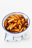 Dish of Sweet Potato Fries