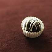 A Single Gourmet Chocolate Bon Bon