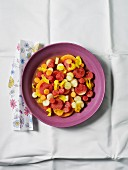 Iced melon salad