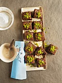 Chocolate and hazelnut brownies