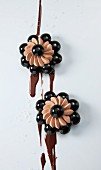 Chocolate flowers with Fleur de Sel