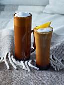 Earl Grey Tea Latte (Teegetränk mit aufgeschäumter Milch)